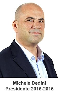 Michele Dedini Presidente 2015-16